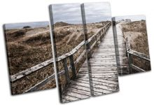 Beach Walkway Sunset Seascape - 13-1990(00B)-MP17-LO